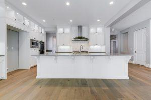 white interior   Elite Builder Services
