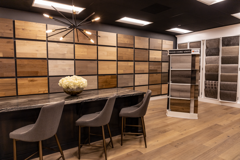 Variety of products in showroom | Elite Builder Services