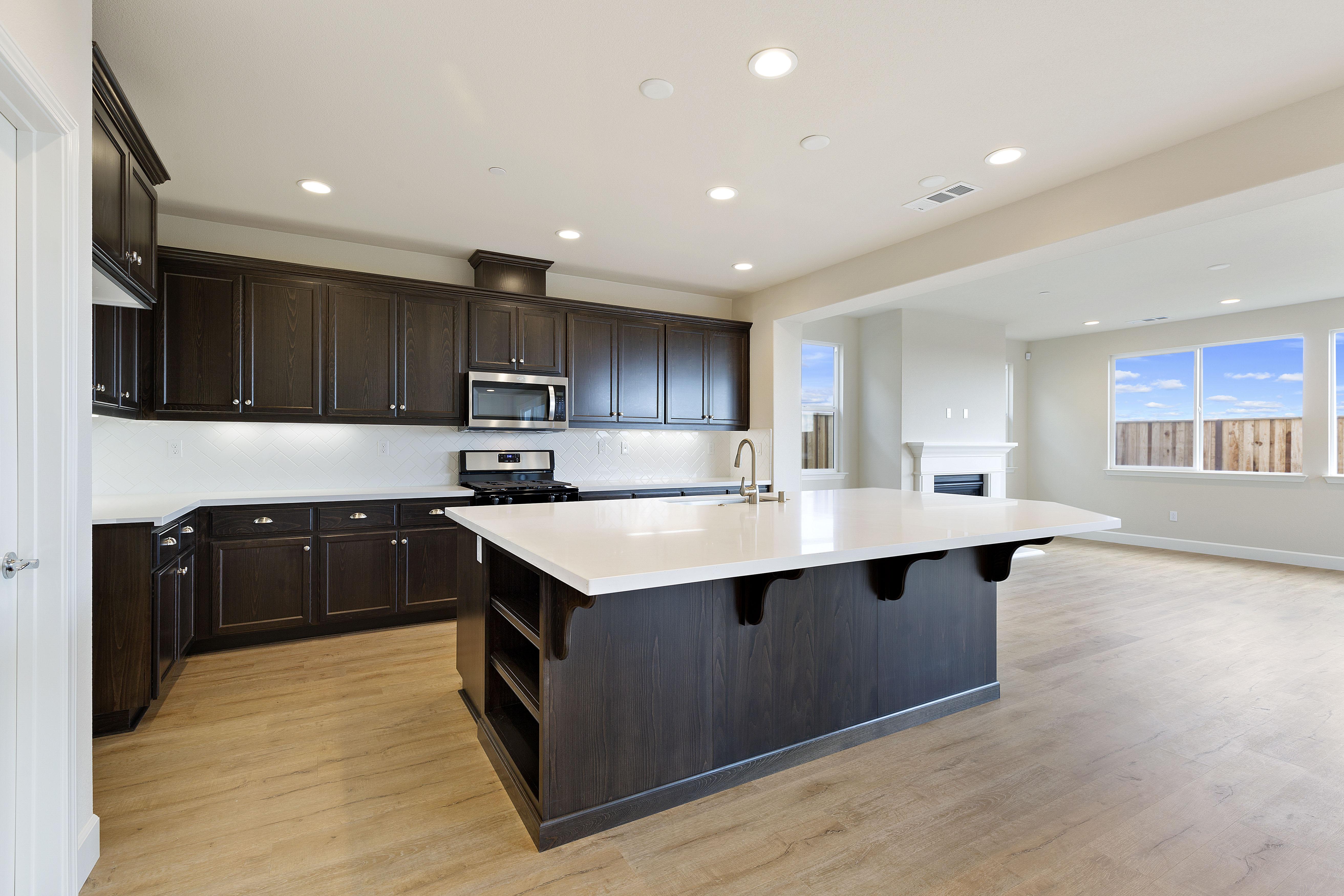 Kitchen interior design   Elite Builder Services