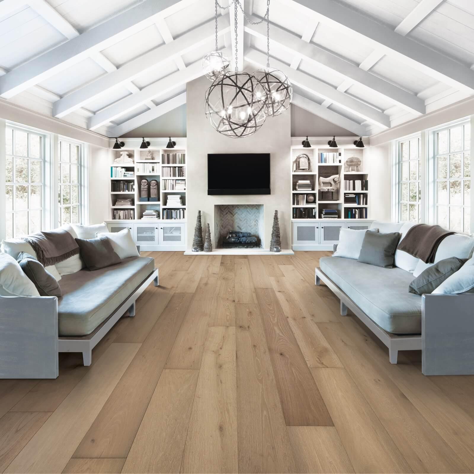 Mont Blanc Room with hardwood flooring   Elite Builder Services